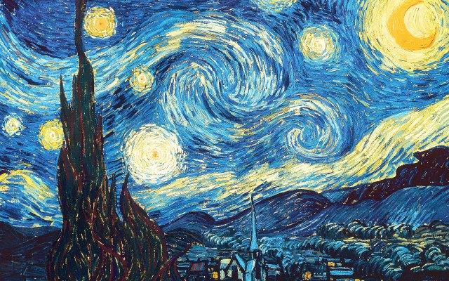30-Vincent van Gogh,Yıldızlı Gece,yağlıboya,73x92cm,1889,Museum of Modern Art,New York,ABD