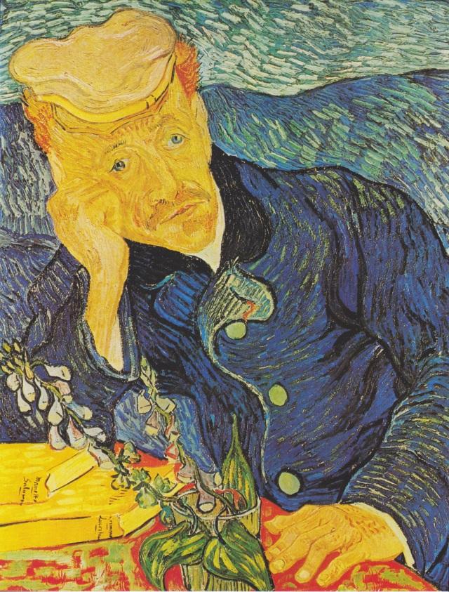 37-Vincent van Gogh,Dr.Gachet'nin Portresi,yağlıboya,67x56cm,1890,Musée d'Orsay,Paris,Fransa